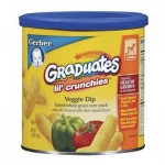 Gerber Lil' Crunchies Veggie Dip