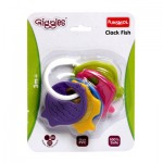 Giggles Clack Fish Teether Rattle