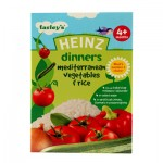 Heinz Cereals Mediterranean Vegetables & Rice 4m+