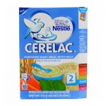 Nestle Cerelac Rice Vegetables Stage-2 300g