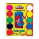 Play Doh Letters and Numbers