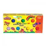 Play Doh Rainbow Colours