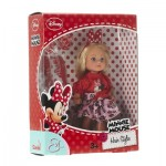 Evi Love Minnie Mouse Hair Styles Frock (12 Centimeters)