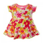 Girls Frock Orange