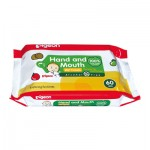 Hand & Mouth Wipes 60pcs