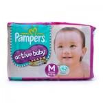 Active Baby Diaper Medium 6-11Kg M62 pcs
