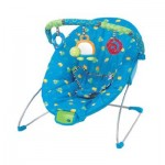 Bouncing Buddies Cradling Bouncer Blue