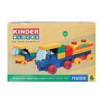 Kinder Blocks - Car, Tanker & Dumper Set