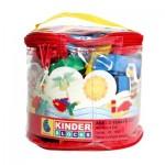 Kinder Blocks PVC Bag