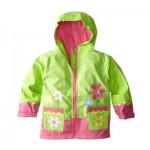 Little Girls' Flower Raincoat
