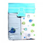 Receiving Blanket Blue 2 pcs set