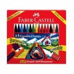 15 Erasable Plastics Crayons