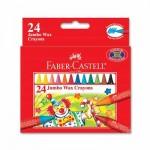 24 Jumbo Wax Crayons