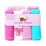 4 Pack Washcloth Set