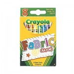 Fabric Crayons - 8 Colours