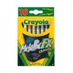 Metallic Crayons - 16 Colours