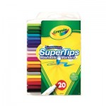 SuperTips Washable Markers - 20 Colours