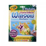 Washable Crystal Effects Window Markers - 8 Markers