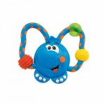 Fun Teething Rattle - Blue Elephant