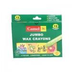 Jumbo Wax Crayon -12 Shades