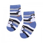 Ankle Penguin Print Socks
