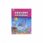 Crayon Coloring Sea Animals