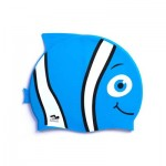 Kids Swimming Cap Blue