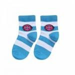 Printed Socks Blue