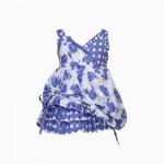 Girls Blue Casual Dress