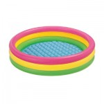 Inflatable Swimming Pool (147-33cm) Inflatable Bottom