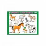Tray Puzzles Domestic & Farm Animals
