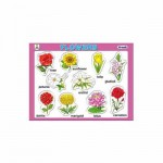 Tray Puzzles Flowers