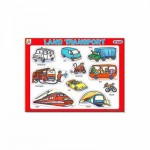 Tray Puzzles Land Transport